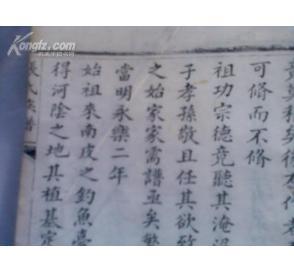 沧州南皮张氏族谱,是张之洞同门族谱图片
