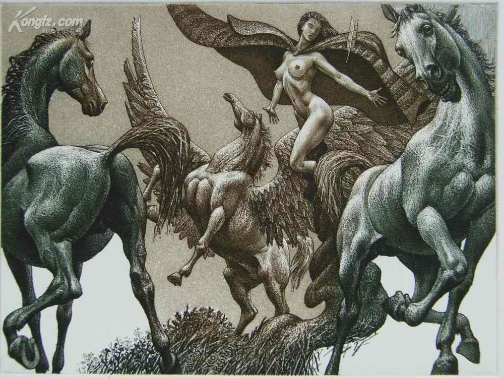 情色吻脚_◤ 朱利安·约旦诺夫作品◥保加利亚大师级版画家情色藏书票——