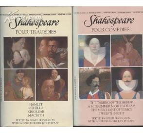 Four Tragedies, Four Comedies by Shakespea