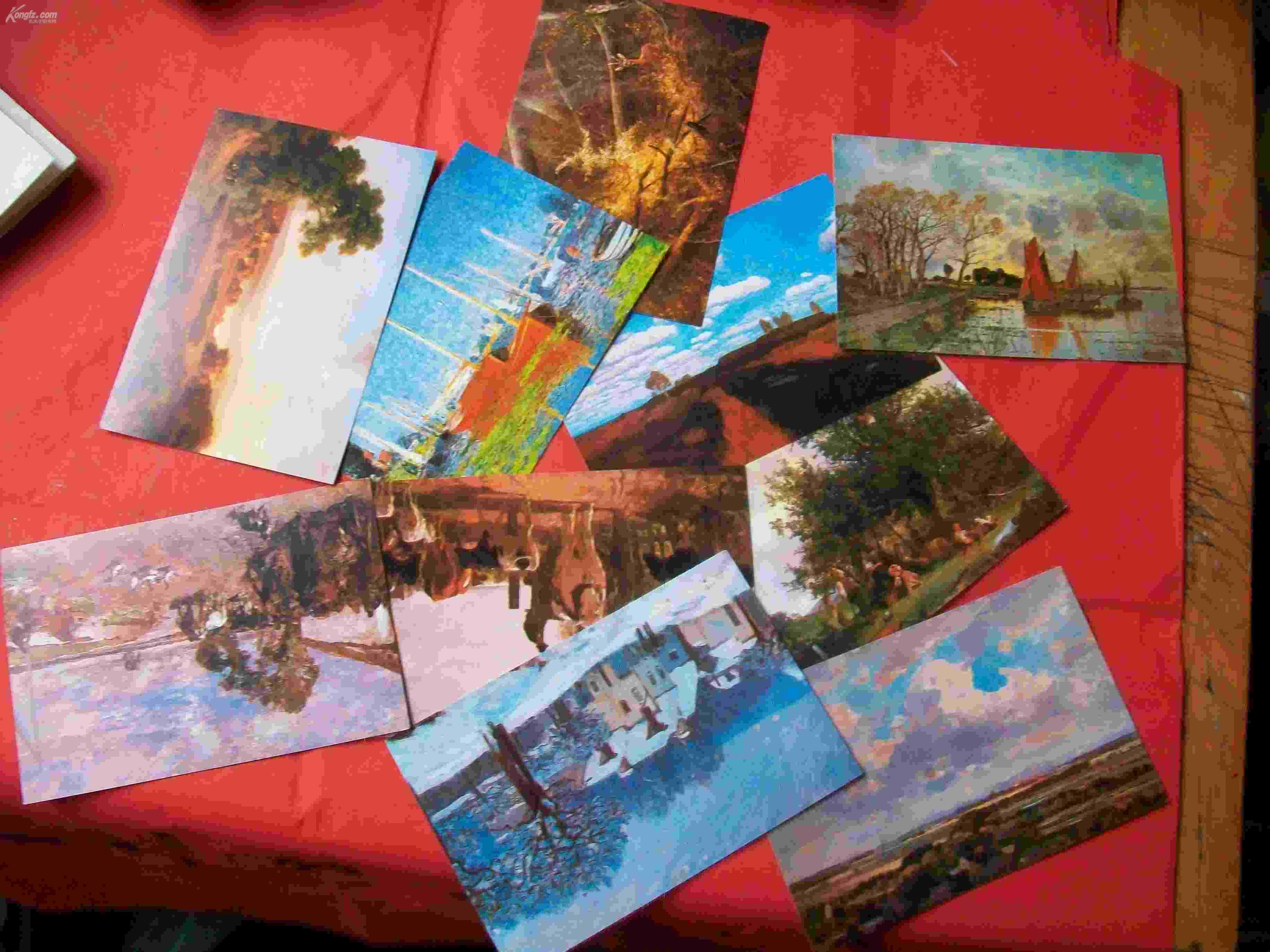 明信片油画风景 拍品编号:4991105
