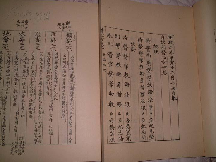 [线装古旧书拍卖品]日本国宝,中国禁书《医心方30卷》线装本,日本影印古抄本,二函30册全,