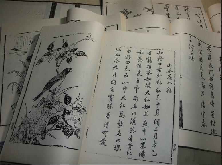 [线装古旧书拍卖品]大开 线装包角 《唐詩書譜》 一涵五巨册 一套全  北京古籍出版社 二000年一版二印