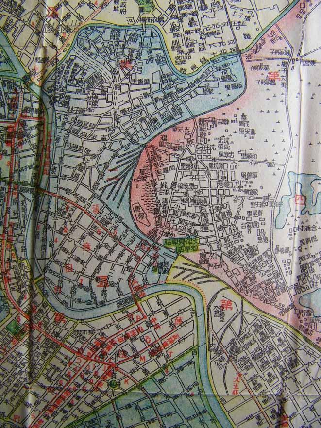 天津地图 估计1944-45年出