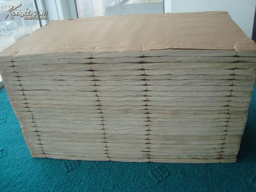 [线装古旧书拍卖品]◆江苏巡抚进呈御定!乾隆二十五年白纸朱墨套印精刊本《御选唐宋诗醇》,纸质莹润!色彩绚丽!煌煌二十四册全!