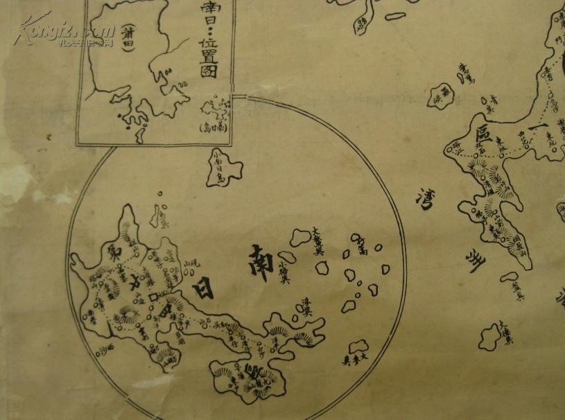 【图】福建民国老地图《莆田县全图》极其精美