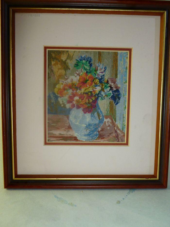 刺绣风景油画 拍品编号:11630425