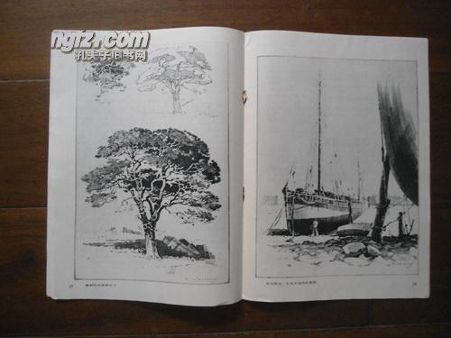 【图】16开线条刊物《宽标识铅笔画》〔美国cad度美术椭圆图片