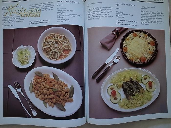 AllColourVegetarianCooking(英文西餐,食谱素诵千年v西餐原版听图片