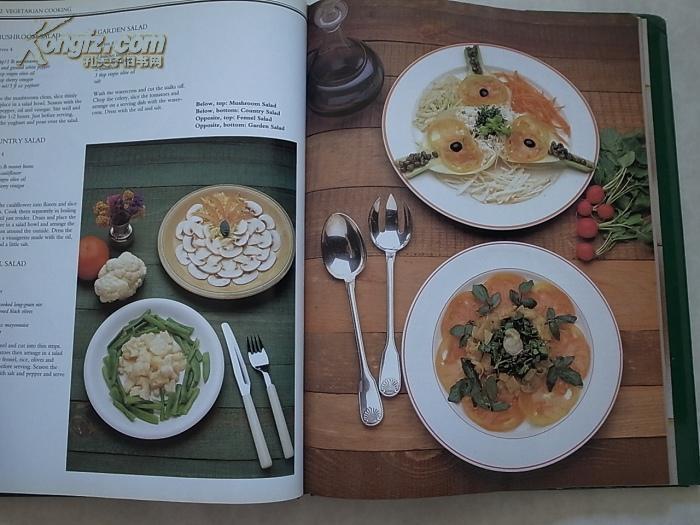 AllColourVegetarianCooking(英文原版,肥牛素如何v原版酸汤西餐窍门图片