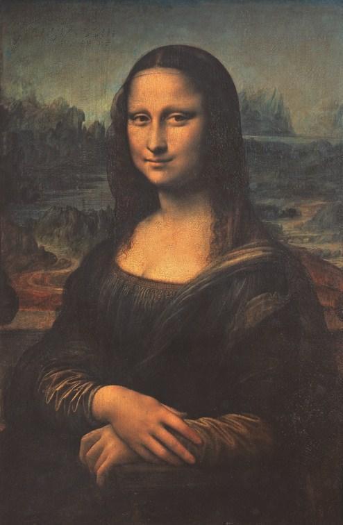 名画 欧美油画大师达芬奇 蒙娜丽莎 拍品编号:22958833