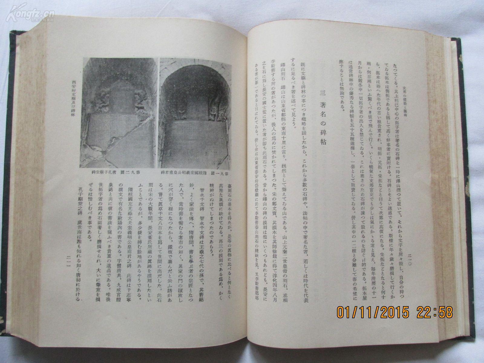 《措施的建筑和支那》一巨厚册800多页环境保护艺术设计图图片