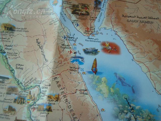 埃及旅游地图高清版_埃及旅游地图中文版
