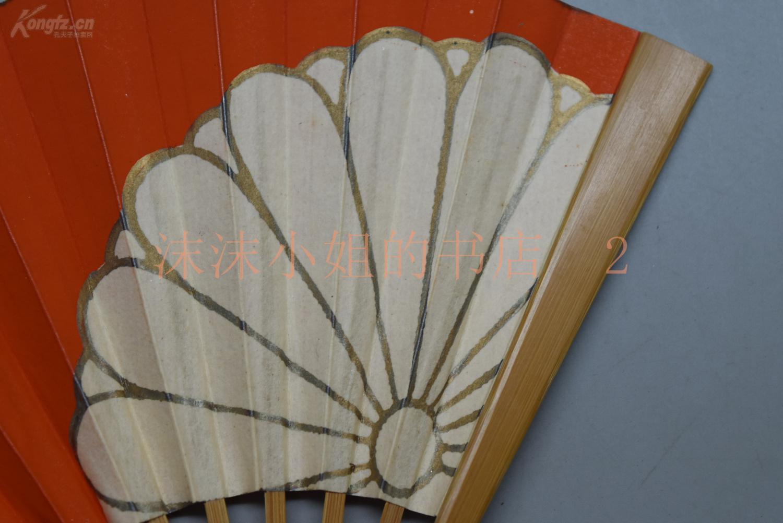 【图】(291)《日本扇子》折扇一把 袖珍折扇 茶