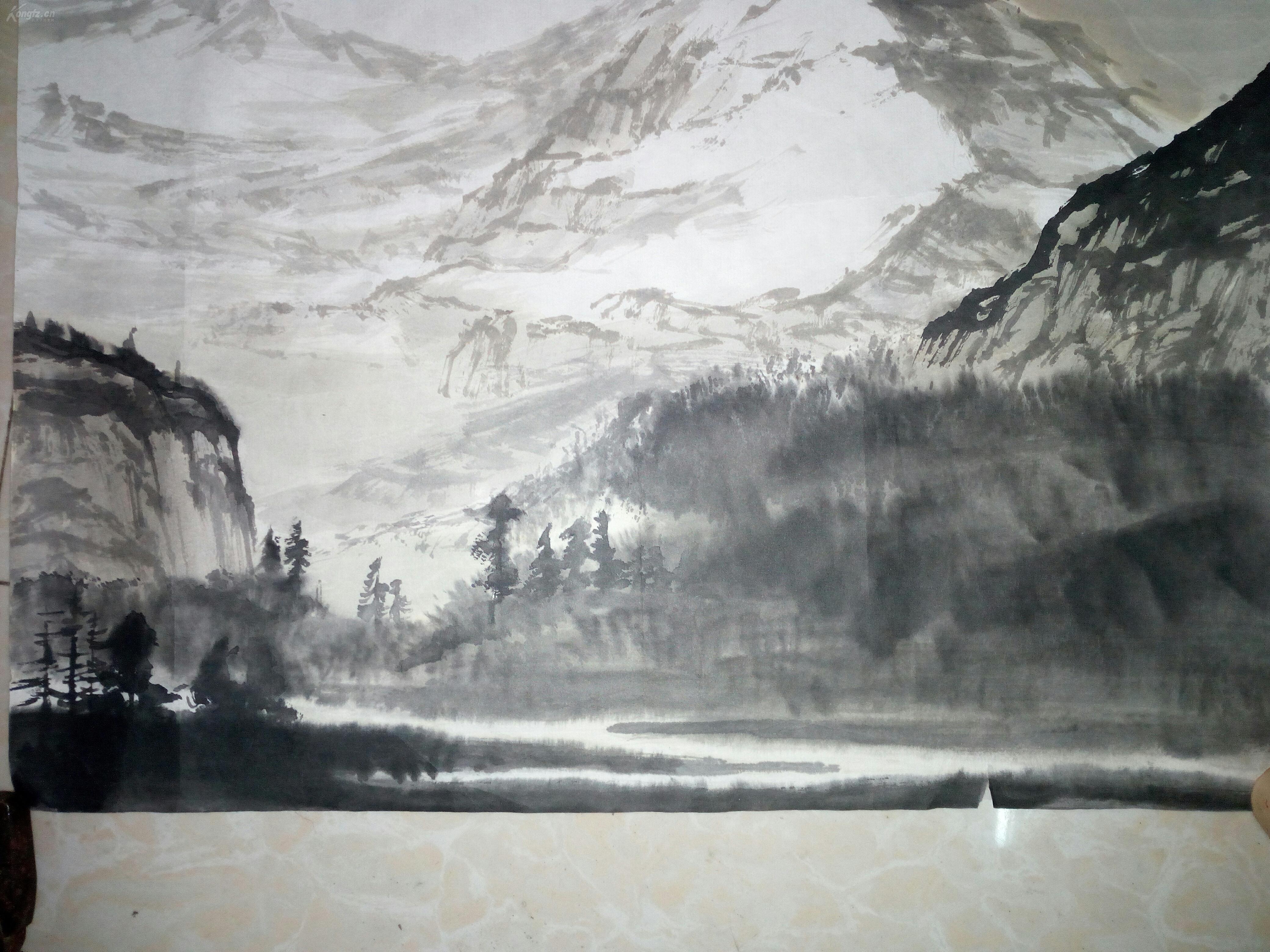 风景古画ps素材