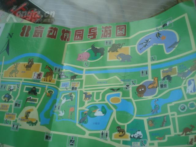 北京动物园旅游地图_2018北京动物园地图游览图