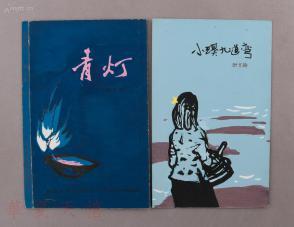 著名装帧艺术家,原天津百花文艺出版社美术编辑 郭予群 为叶文玲著作图片