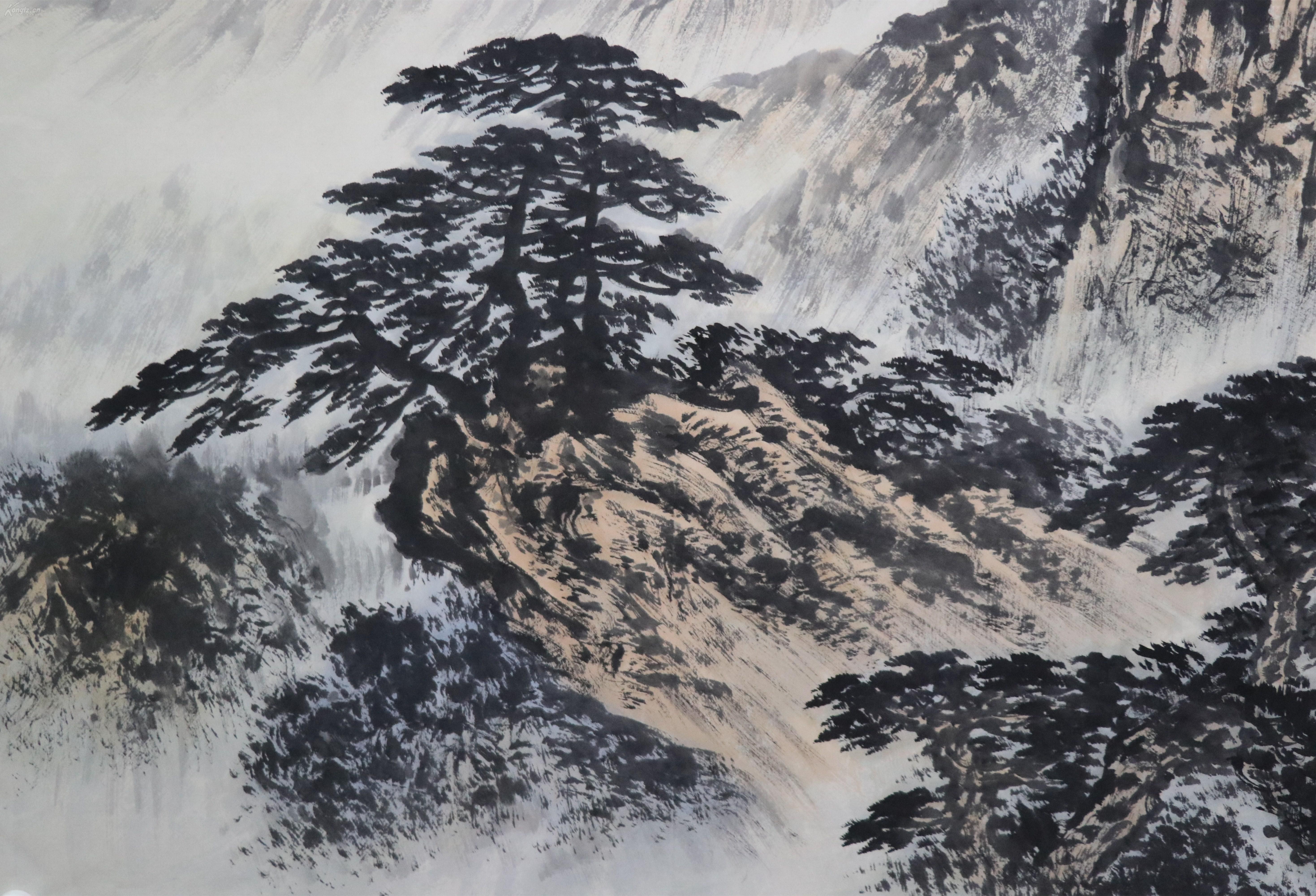 当代著名写意画家、书法家。中国美术家协会会