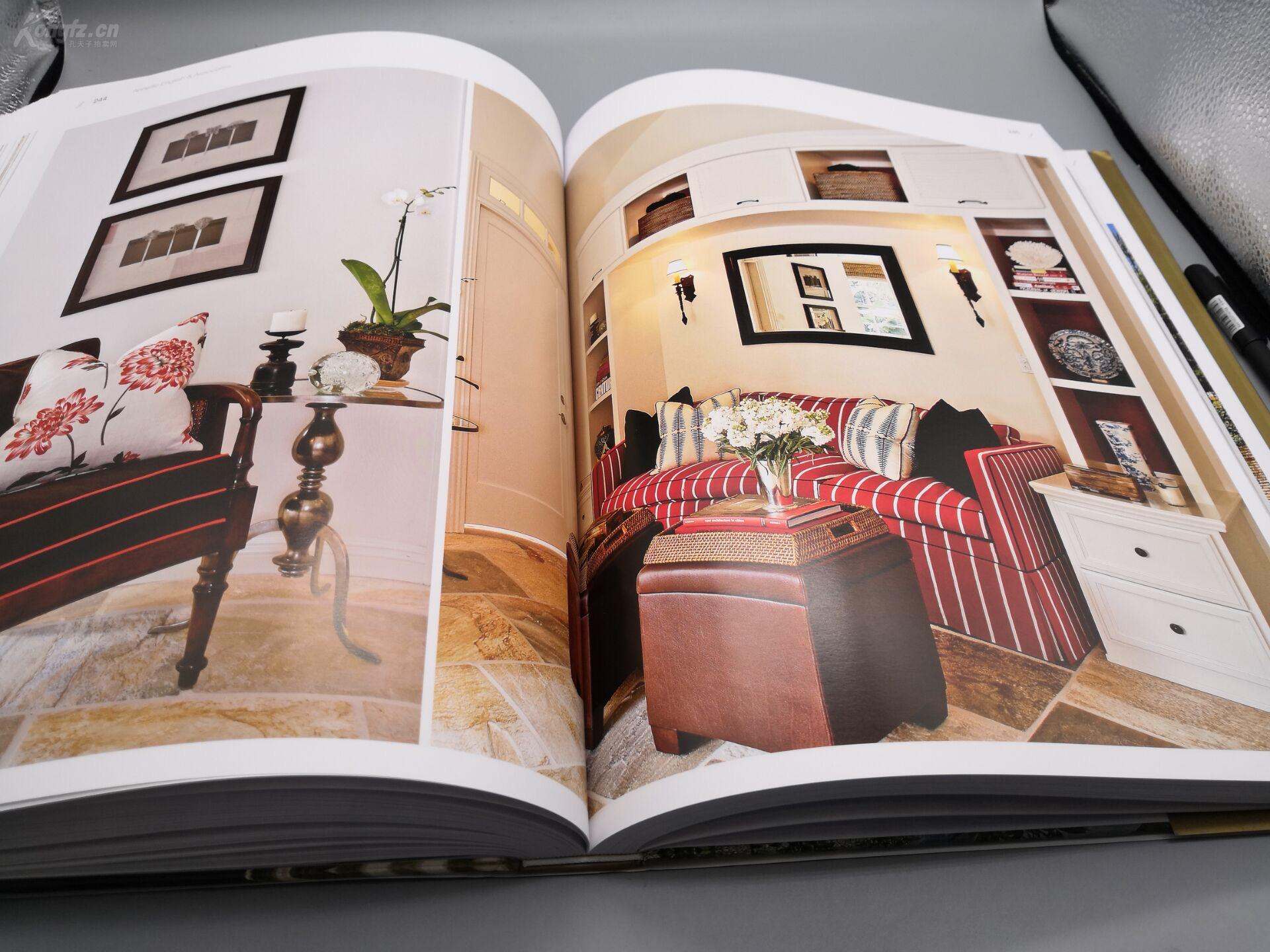 新古典别墅》8开巨册、445页巨厚册、原书定结构设计光伏图片