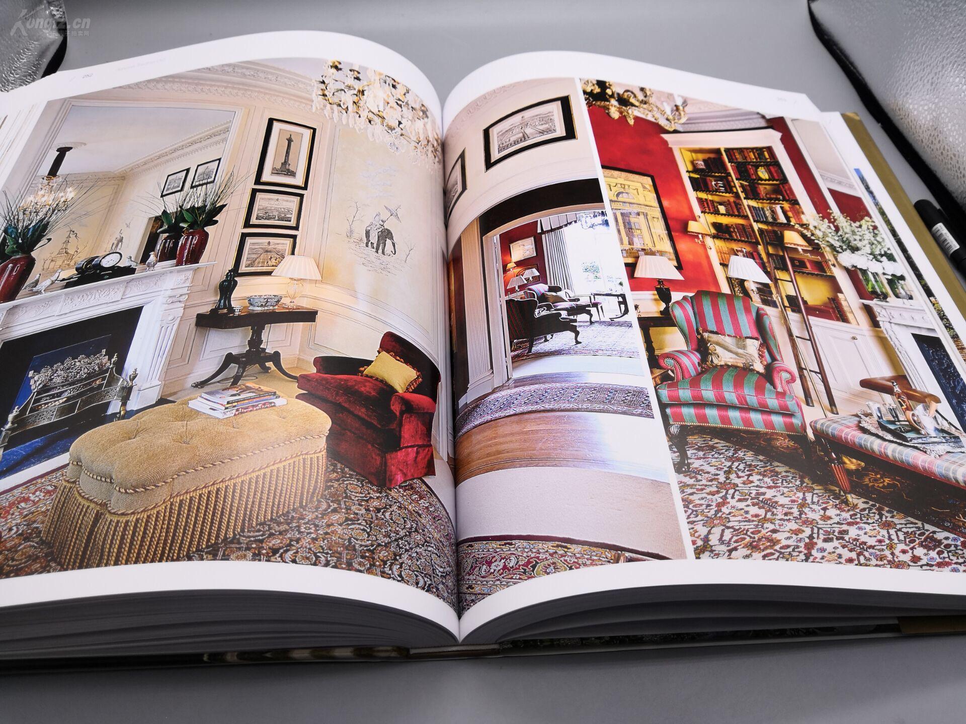 新古典别墅》8开巨册、445页巨厚册、原书定室内设计优秀案例ppt作品图片
