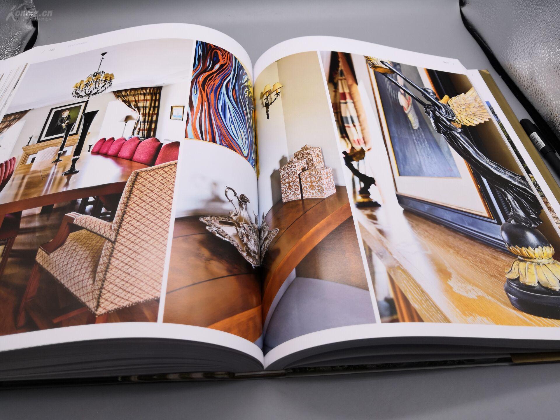 新古典别墅》8开巨册、445页巨厚册、原书定家庭室内装修设计培训班图片
