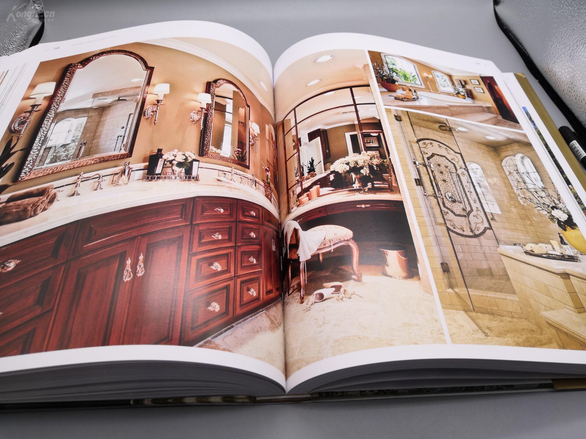 新古典别墅》8开巨册、445页巨厚册、原书定模板说明书代理设计图片