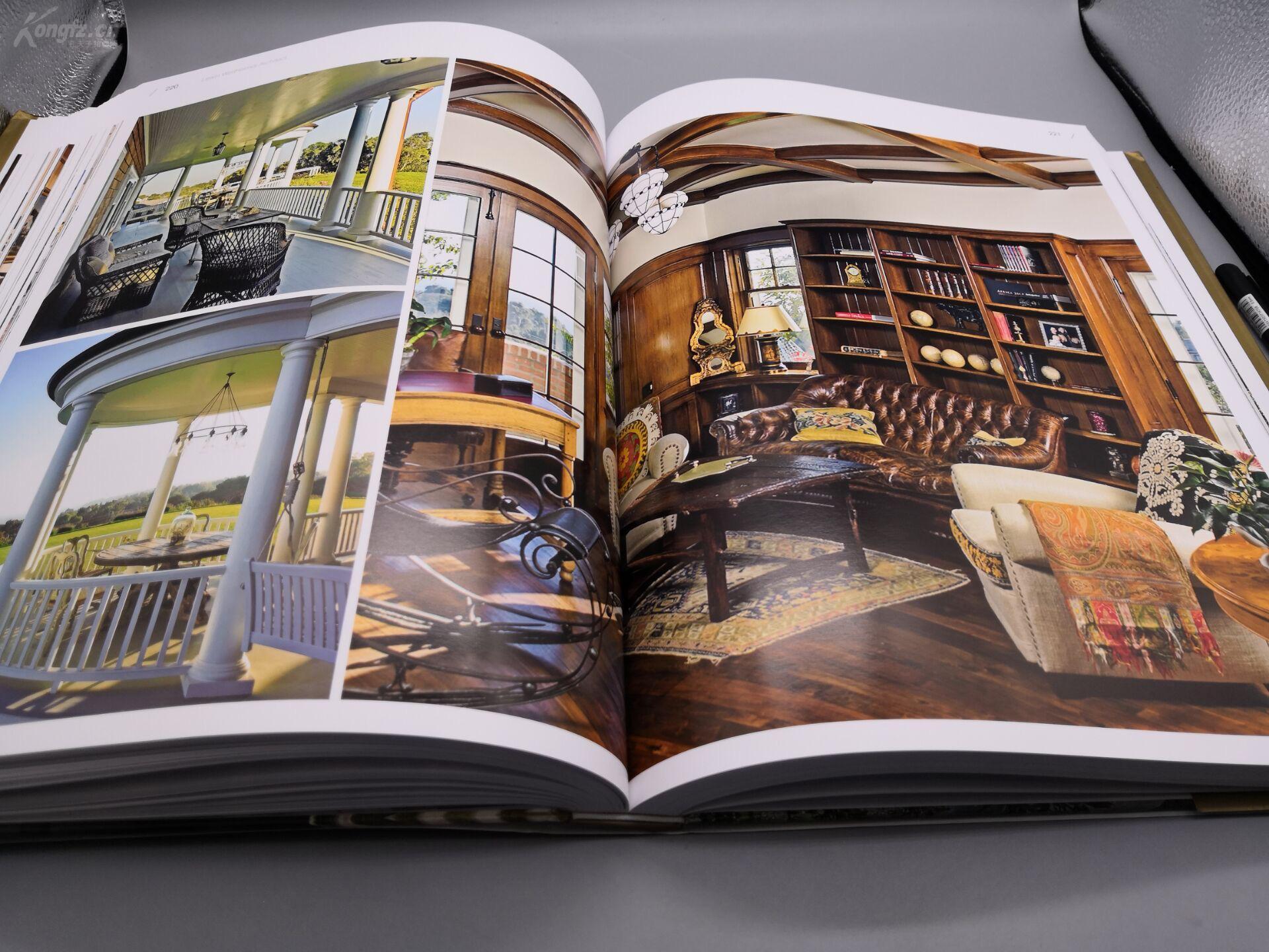 新古典别墅》8开巨册、445页巨厚册、原书定长春室内设计收费标准图片