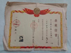 1956年国营上海第17棉纺织厂职工业余小学暨的英语五小学年级发言稿家长会图片