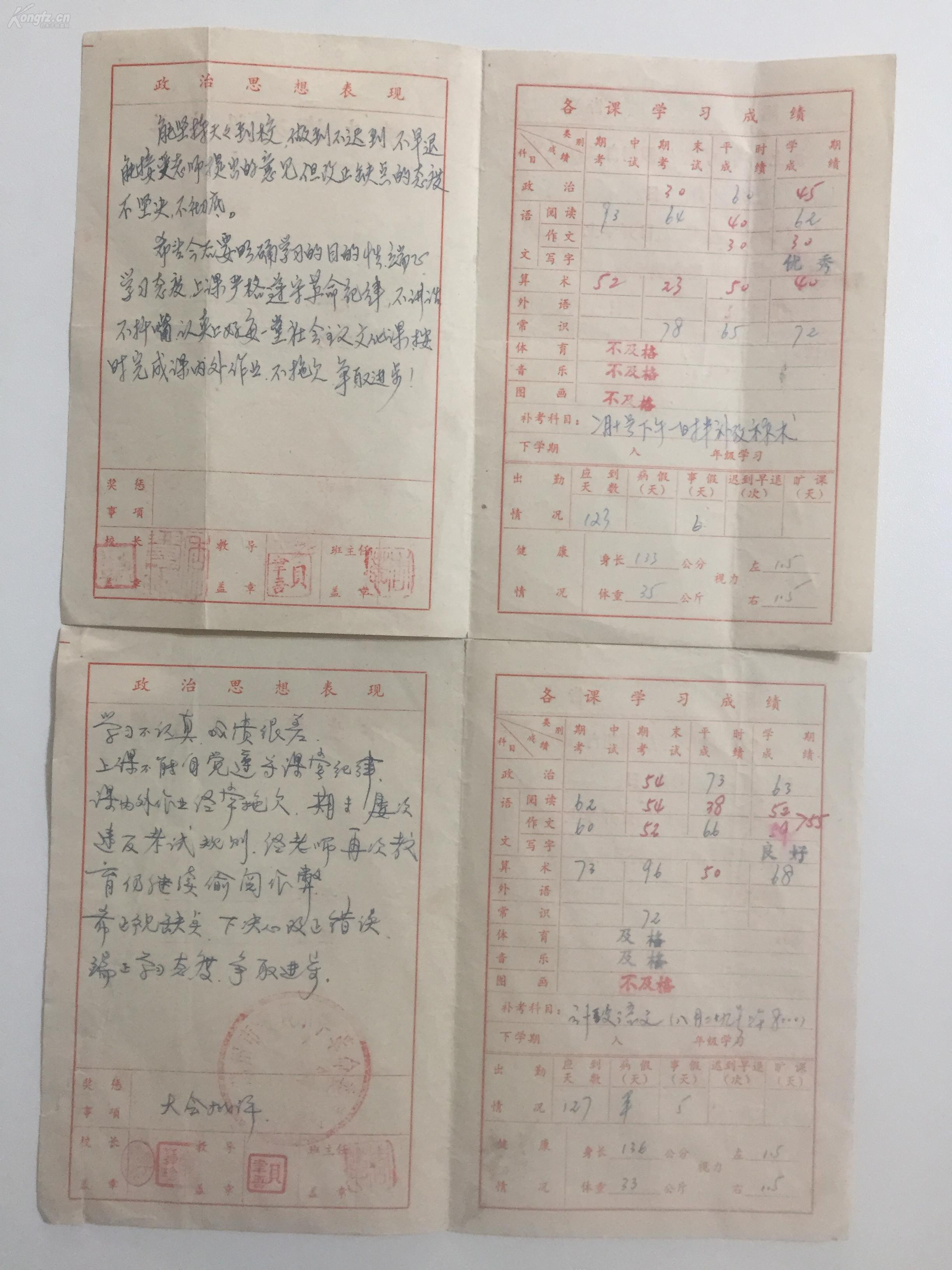 1979年苏州市爱民小学四(1)班《学生情况汇报小学教师国外图片