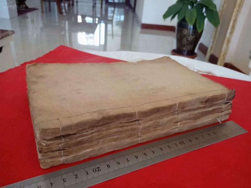 清 光绪 木刻 四色套印《辅注洗冤录集证》一套七册现存五册(存卷一、卷三、卷四、卷五、卷六下)缺卷二、卷六上。
