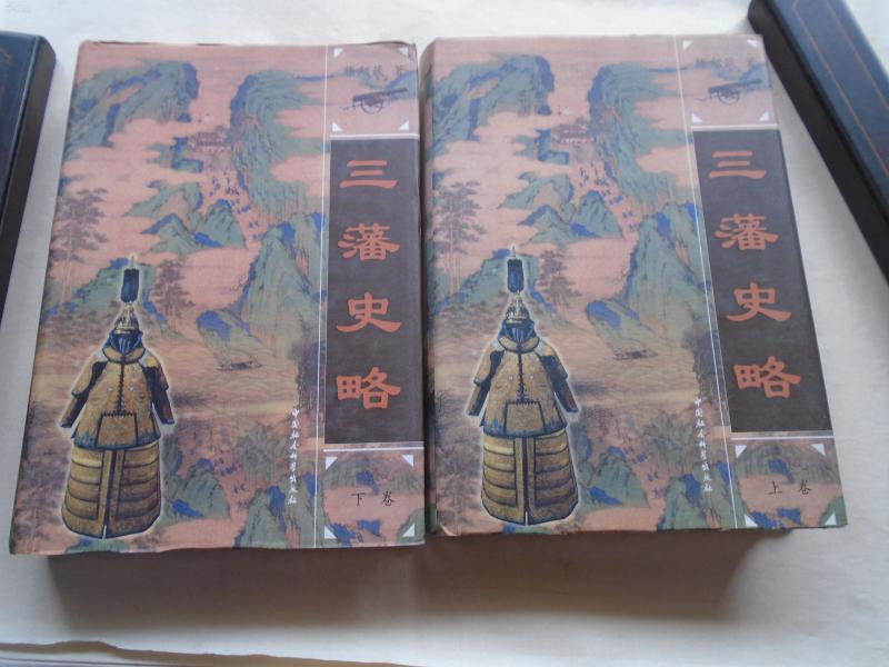 精装《三藩史略》2册全   品看图自定