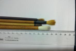 旧毛笔,老毛笔,库存毛笔,老羊毫