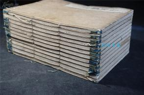 清 木刻板,享保九年(1724年)    《易经集注》12册 。(13册全,欠一册)    ,版画多  【周易 易经 ,八卦,易学】 白纸精印,品相佳,和刻本,
