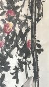 【荣宝旧藏】清末画家 吴昌硕 超大幅 【吉祥如意图】