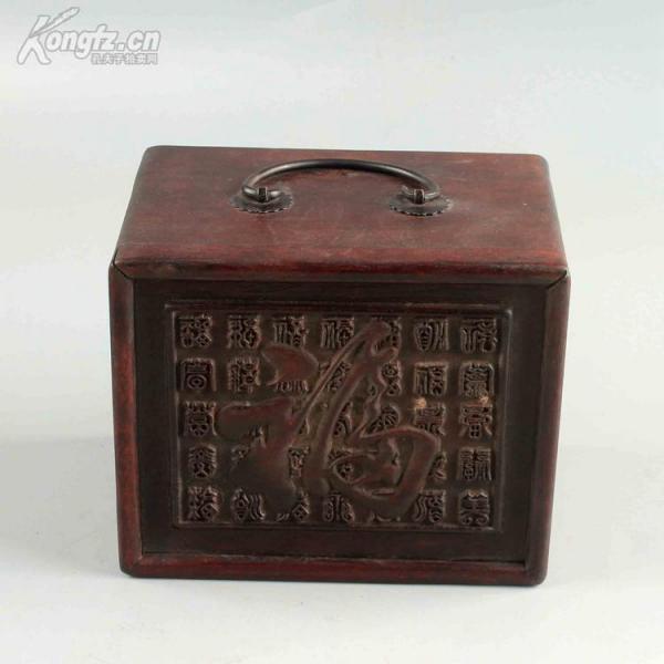 花梨木木雕珠宝首饰盒盒子