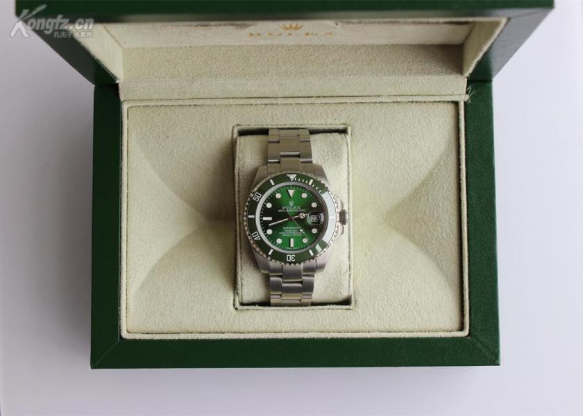 HK顶级复刻劳力士潜航者型系列116610LV-97200 绿盘腕表(绿水鬼)