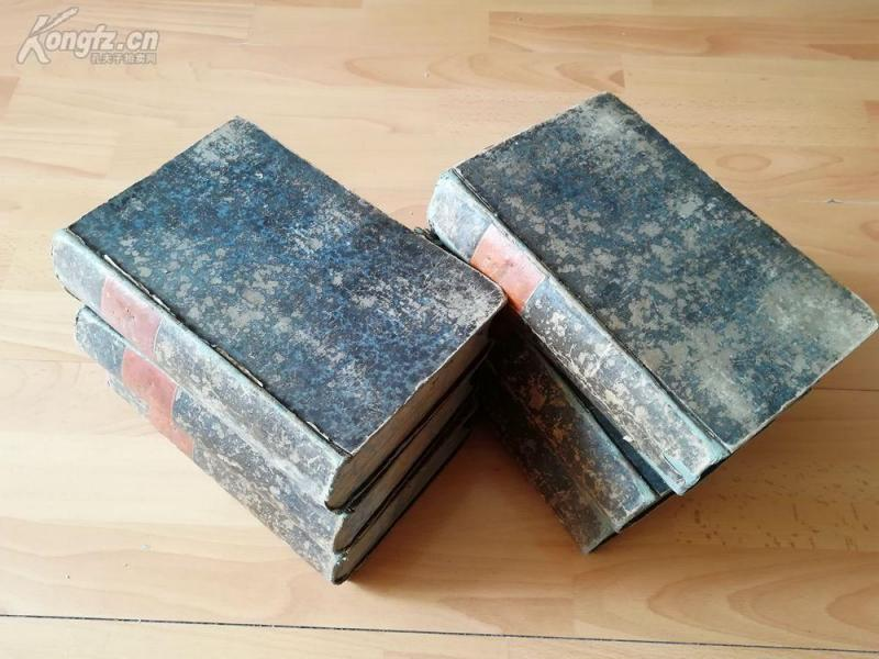 1847-1849年德文《德國天主教百科全書》存六卷(4.5.7.8.9.10)---品相很好---22.5*15.5厘米開本