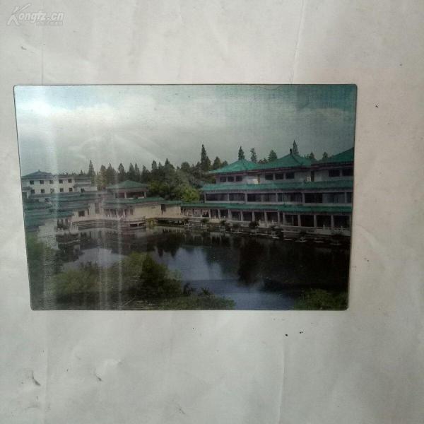 荆州博物馆3D明信片一张