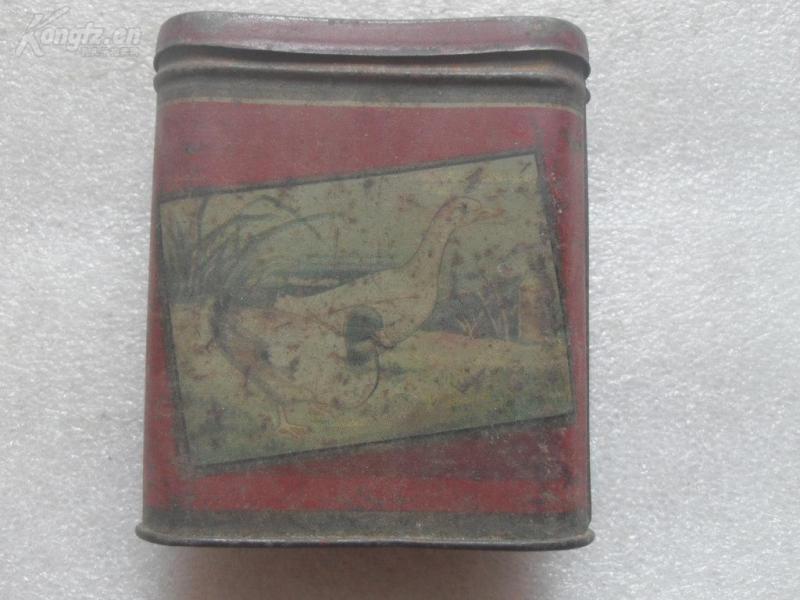 50年代茶叶盒