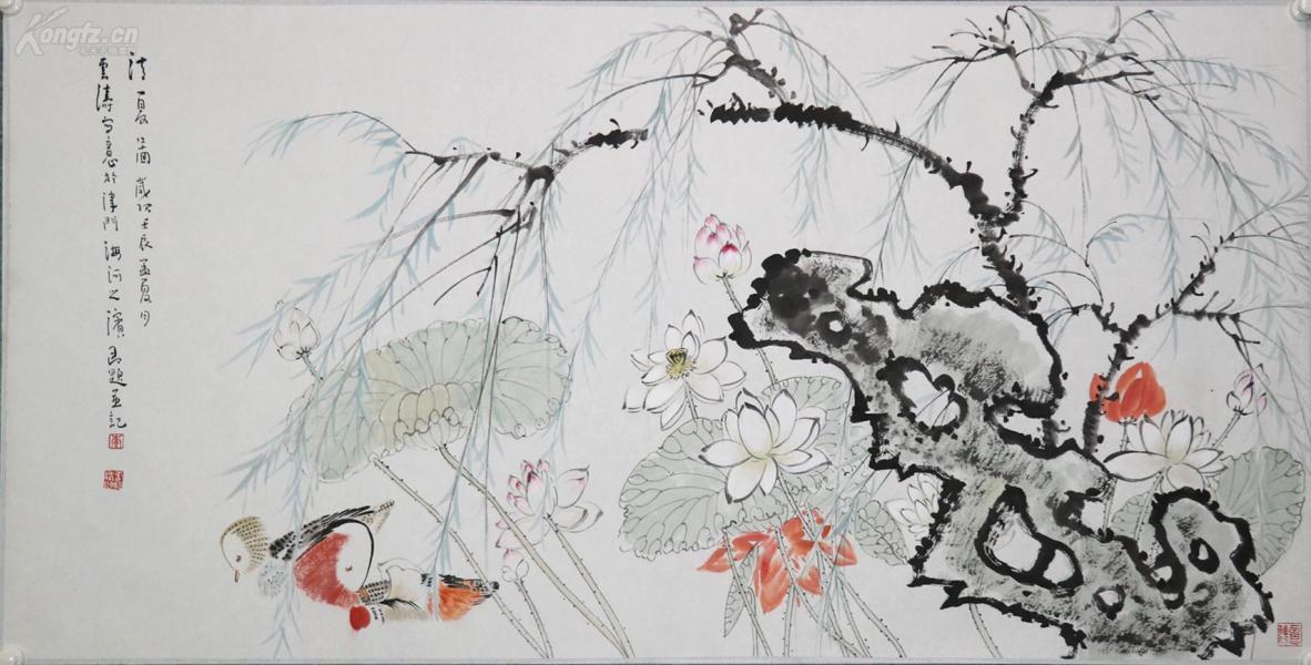 李云濤 著名青年畫家, 天津美術學院老師,天津美術學院中國畫系花鳥專業研究生畢業并獲碩士學位。花鳥