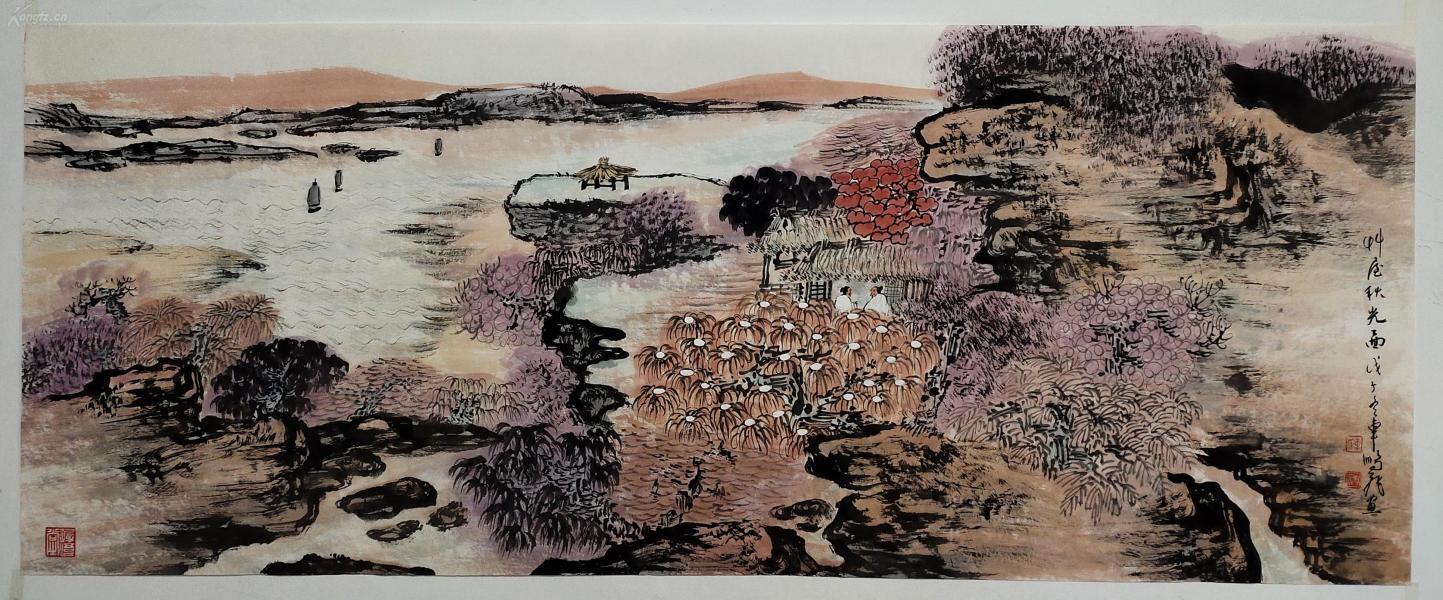上海中國畫院創作研究室副主任、一級美術師【車鵬飛】山水