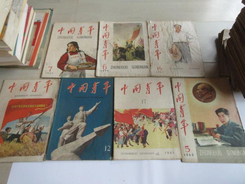 中国青年 1960年    7本 (17)