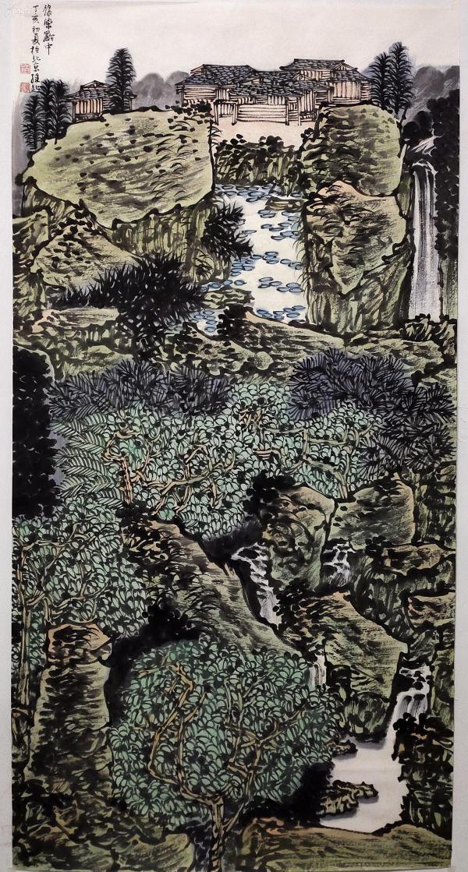 中国美术家协会会员、国家一级美术师【满维起】青绿山水