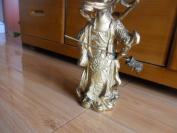 铜器铜关公--品相好