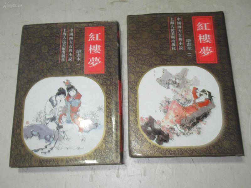 红楼梦 绘画本 全二册【精装】上海人美