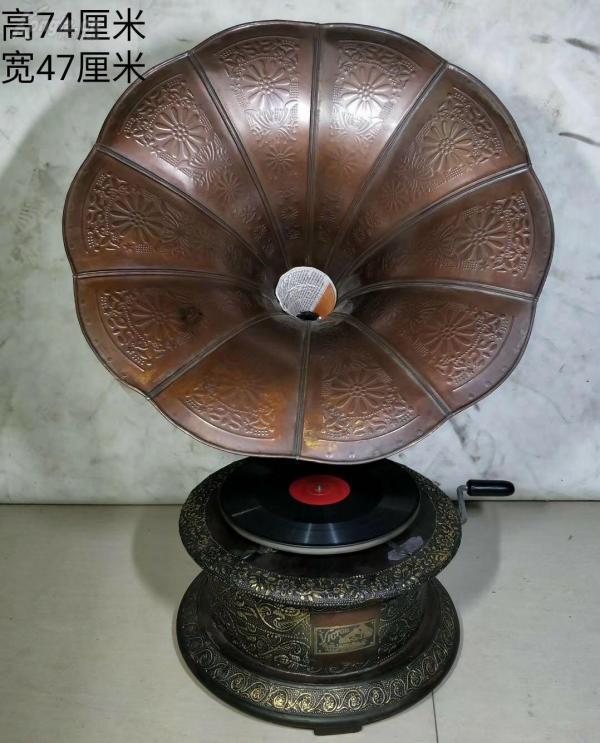 旧藏 老物件  古董 美国进口品牌 老唱片机一台。能正常使用。