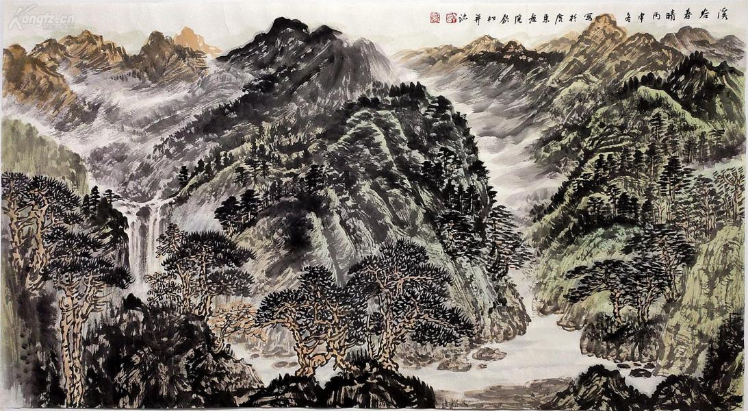 中国美术家协会副主席、广东省美术家协会主席【许钦松】山水