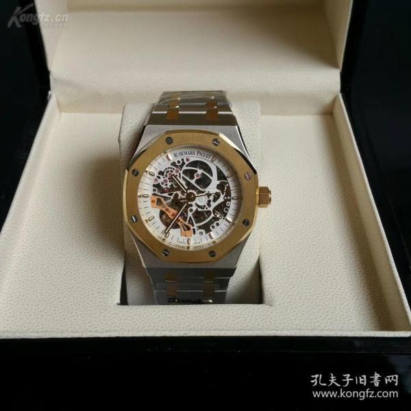 世界頂級名表【愛彼】腕表 帶盒子 表重173g