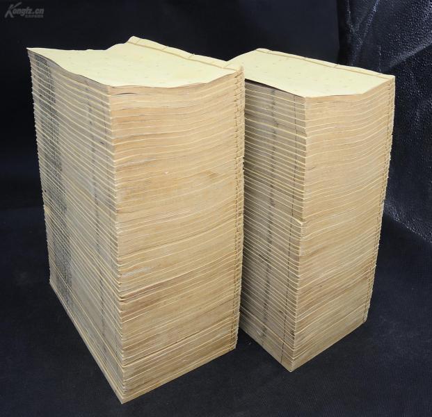 稀见大部头】清光绪精印【皇清经解续编】120册一套全。1430卷卷数合订为209卷,有很多精美版画。南菁书院院长王先谦汇刻的一部经学丛书,收录古籍二百余种,为清初至光绪间经学著作之总汇。是研究国学十三经的经典古籍。是书纸张极佳,洁白如雪,薄若蝉翼。全套完整无缺,为最全之版本,可遇不可求珍品
