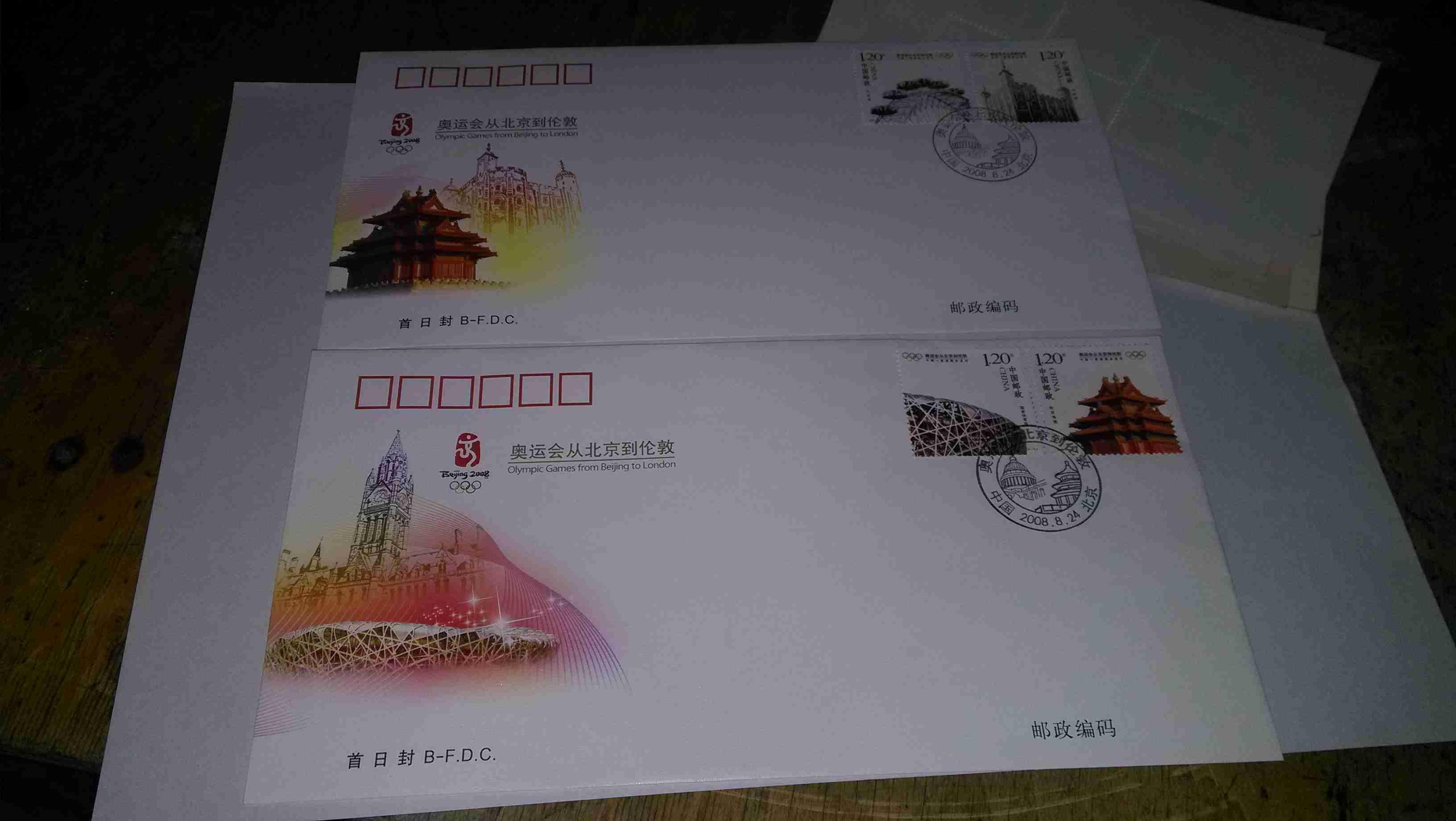 c.奥运会从北京到伦敦