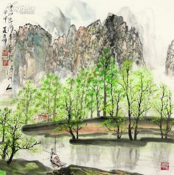 当代中年画家夏云峰作品正在上拍,欢迎大家光临